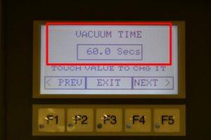 VACUUM TIME